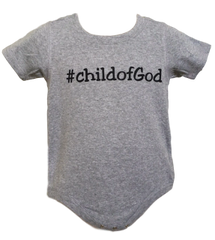 Infant Short-Sleeve Hashtag Onesie - Child of God