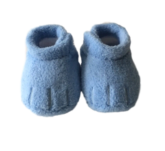 Cozy Feet Soft-sole Crib Shoe - Sky