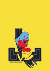 Pac Man Front Kickplate Art