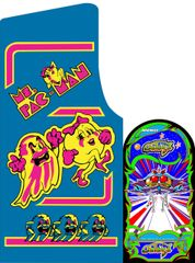 Ms Pac Man / Galaga 25th Anniversary Edition Side Art Set (2pcs)