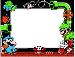 Mario Bros Bezel