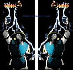 Mortal Kombat 2 Side Art Set