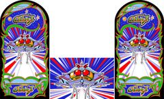 Galaga Side Art and Kickplate set