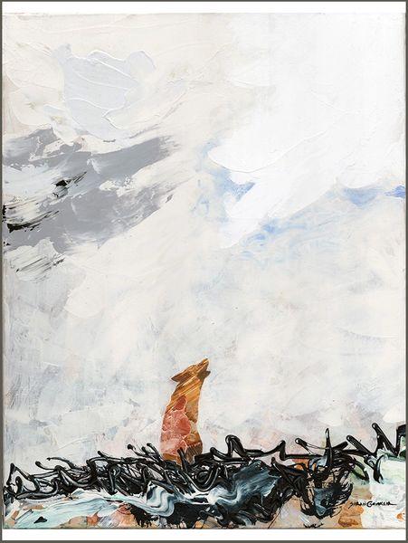 """18x24"""" Coyote print"""