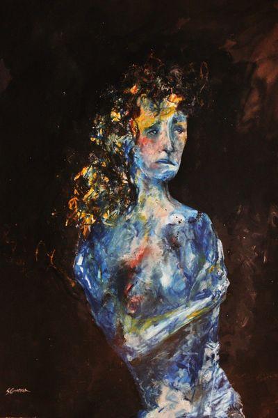 "16x24"" Blue print"