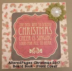 Christmas Board Book Complete Kit