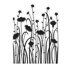 Embossing Folder Wildflowers