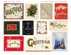 1091 Christmas Vintage