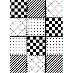 Embossing Folder Quilts