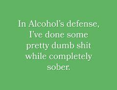 Snarky Stamp Alcohol