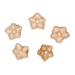 Flower appliques (3)