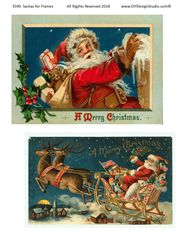 3590 Santa for Framing