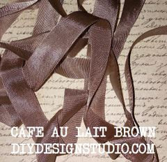 CAFE AU LAIT SEAM BINDING (5 YDS)