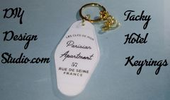Tacky Hotel Keychains Paris