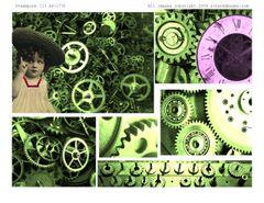 Pastel Steampunk ATC Book