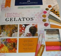 Gelatos Mixed Media Kit LAST ONE