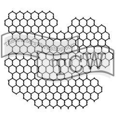 Stencil Chicken Wire 6x6