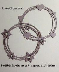 Die Cut Scribbly Circles (2)