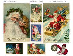 3576 Santa Brings Cheer