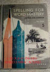 Spelling Class Book 1965