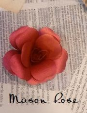 Mason Rose Flowers Kit