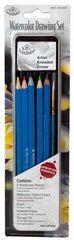 Drawing Pencil Set in Tin