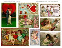 394 Victorian Valentines