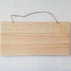 Wood Slat Signs