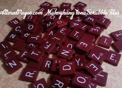Scrabble Tiles and Tile Jewelry
