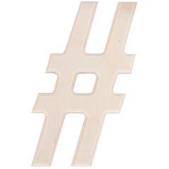 Hashtag wood