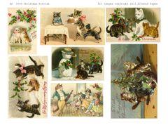 2059 Christmas Kitties