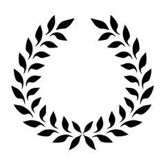Stencil Wreath 6x6 image