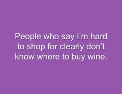 Snarky Stamp Buy Wine