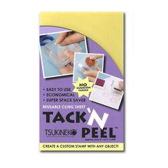 Tack and Peel Stamp Adhesive