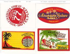 1947 Travel outside the USA Printable