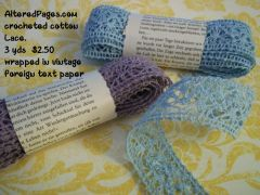 Crocheted Cotton Lace Pack