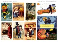 1080 Antique Halloween DIGITAL