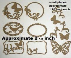 Die Cut Delicate Frames set (12)
