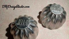 Aluminum Jello Molds (2) tin