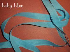 Baby Blue Seam Binding Ribbon (5 yd)