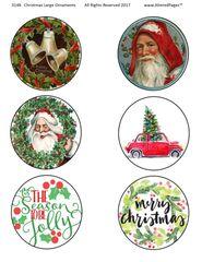 3148 Christmas Ornaments Prinable