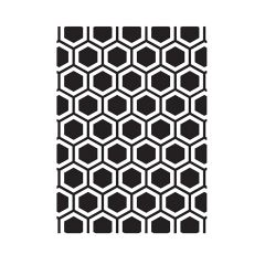 Embossing folder Honeycomb