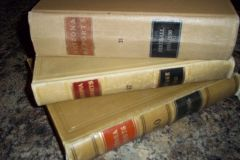 Vintage Law Books Leather bound