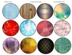 3150 ATC Discs Colorful
