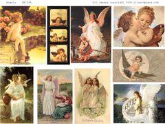 244 Angels Digital Printable