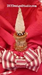 Wooden Spool Ornament