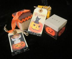 Box and Collages Halloween Kit DIGITAL