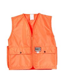 DAN'S KID'S BLAZE ORANGE VEST
