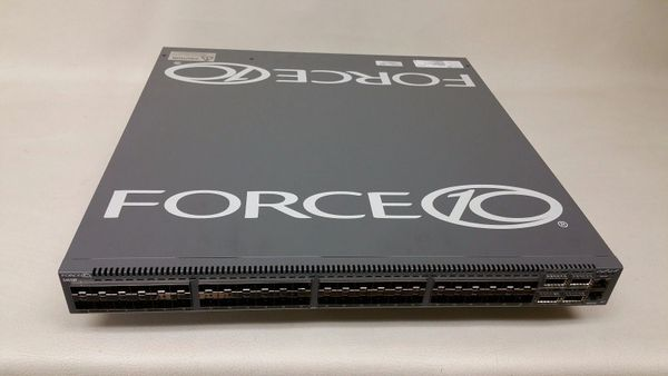 "Force10/Dell S4810P-AC 48x 10GbE SFP+ 4x 40GbE Switch 2x PSU ""Reverse"""