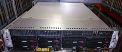 SuperMicro 2U Server 2x Quad-Core 2.4GHz E5620 96GB RAM CSE-825